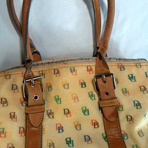 Vintage Dooney and Bourke Leather Bag